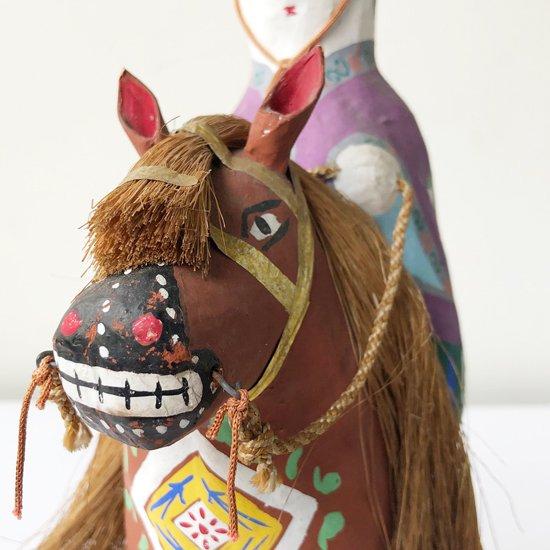 ヴィンテージ ジャパニーズ フォークアート:古倉保文氏による琉球張子「チンチン馬」