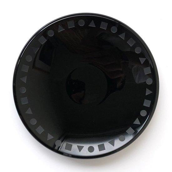 1980年代ごろに佐々木ガラスが輸出用に製造していたガラス製のプレート