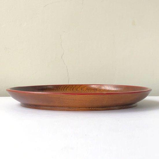 兵庫県・丹波の木漆工芸家 小島雄四郎さん(1940-2020)による丸盆