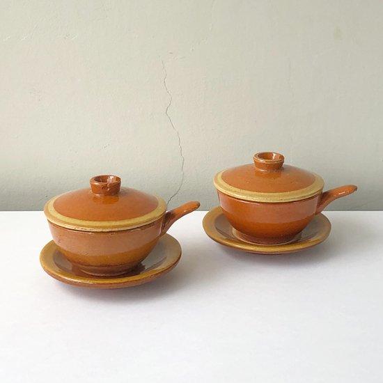 民藝運動とも関わりの深い、島根県の布志名焼による手付き小鉢