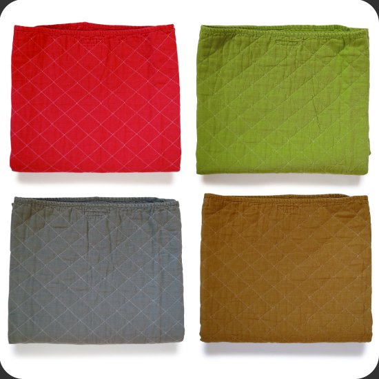 Utility Canvas:Quilted Throw