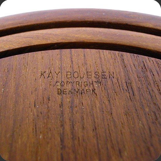 ヴィンテージアイテム:Kay Bojesenデザインのトレイセット