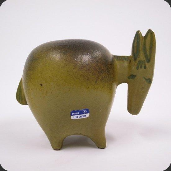 ヴィンテージ セラミック:リサ・ラーソン Stora ZooシリーズのDonkey