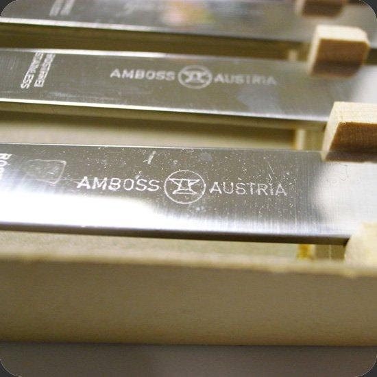 ヴィンテージアイテム:オーストリアに存在していたカトラリーメーカー、Amboss社のフォンデュ用のフォーク