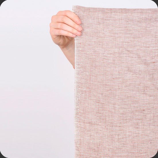 Deck Towel:Hugo/Made in New York from Lithuanian linen