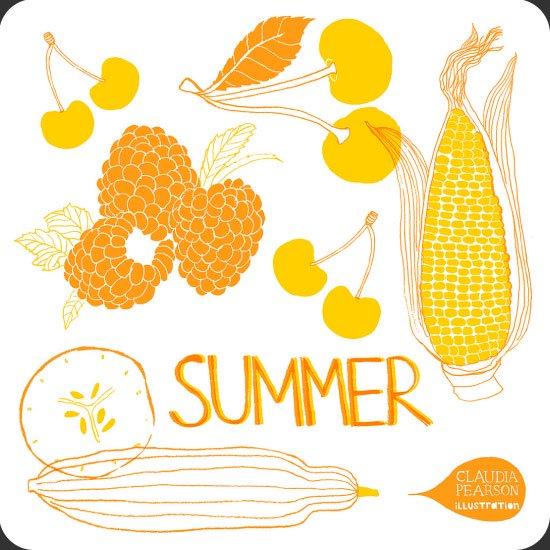 Summer イラスト