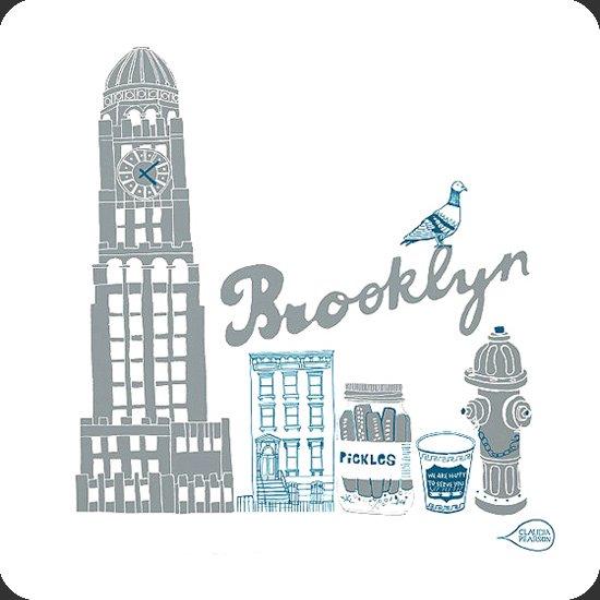 Brooklyn イラスト