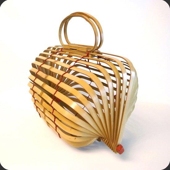バンブーハンドバッグ