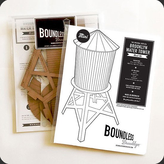 Boundless Brooklyn:ウォータータワーキット  パッケージ