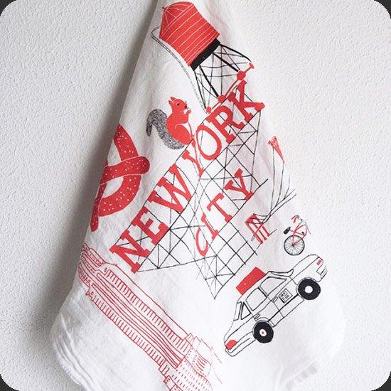 Claudia Pearson : New York Tea Towel