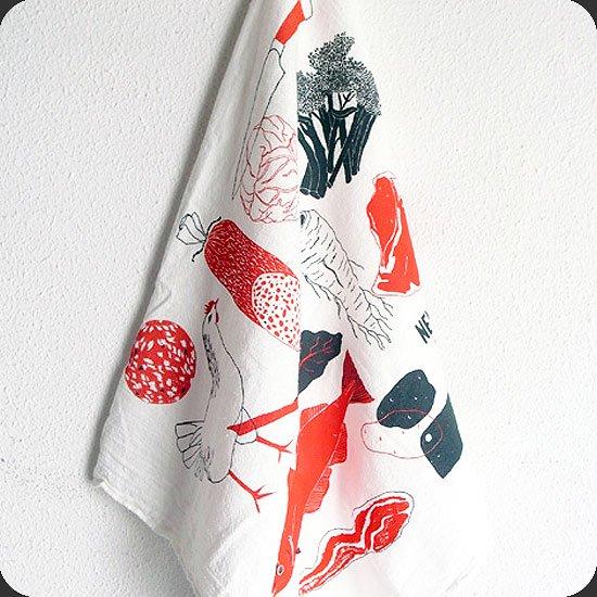 Claudia Pearson : Pickles Tea Towel
