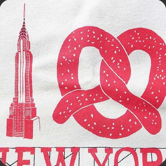 ニューヨークをテーマにしたイラスト