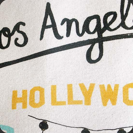 LAをテーマにしたイラスト