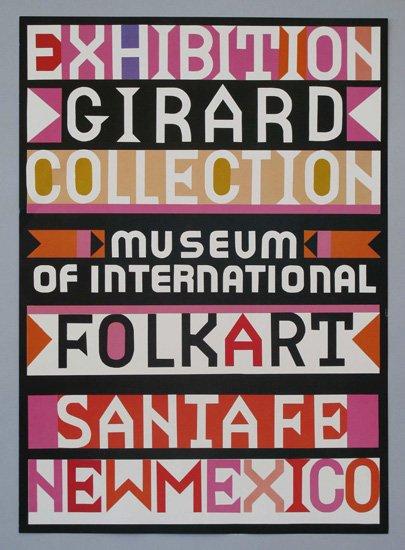 ヴィンテージ アイテム: Museum of International Folk Artのポスター