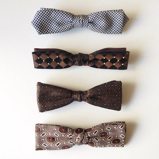 アメリカで60年代頃に作られていたスナップオン式の蝶ネクタイ