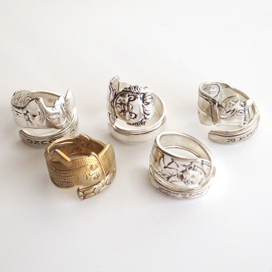 Vintage Accessories:Spoon Ring