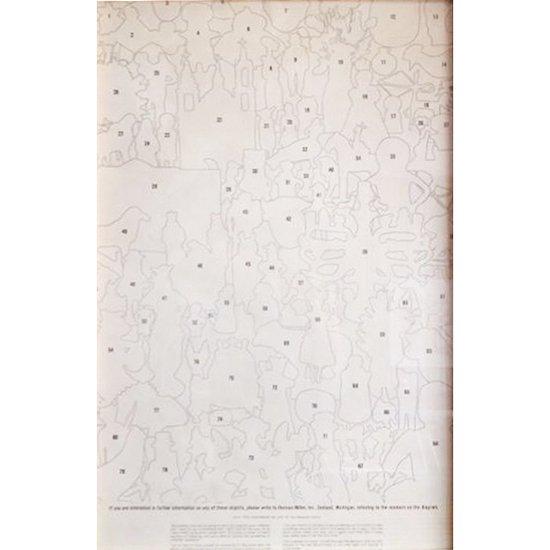 ヴィンテージ アイテム: Textile & Objectsのポスター