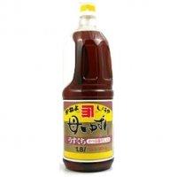 【カネヨ/かねよ】 母ゆずり 淡口 1.8 リットル 【九州 鹿児島 醤油 味噌 しょうゆ みそ うすくち 料理用】