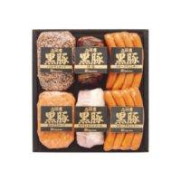 【冷蔵】 九州産 黒豚 セット 大 (パストラミローフ・焼き豚・スモークウインナー・アラビキローフ・ホワイトボンレスハム) 【ギフト 九州 全国 特産品】