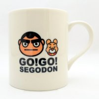 【GO!GO! SEGODON】 マグカップ No.2 西郷どん&つん