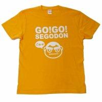 【新型コロナウィルス募金・基金に寄付します】【GO!GO! SEGODON】 限定 ごわす Tシャツ ボンタンゴールド 【西郷どん・ゆるキャラ・グッズ】
