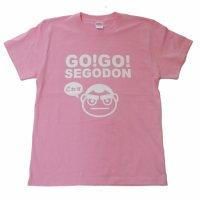 【GO!GO! SEGODON】 限定 ごわす Tシャツ おごじょピンク 【西郷どん・ゆるキャラ・グッズ】
