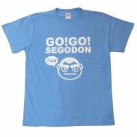 【新型コロナウィルス募金・基金に寄付します】【GO!GO! SEGODON】 限定 ごわす Tシャツ 鹿児島の空サックス 【西郷どん・ゆるキャラ・グッズ】