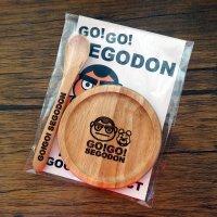 【新型コロナウィルス募金・基金に寄付します】【GO!GO! SEGODON】 コースター ・ ティー スプーン セット 丸  【西郷どん・ゆるキャラ・グッズ】