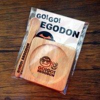 【新型コロナウィルス募金・基金に寄付します】【GO!GO! SEGODON】 コースター ・ ティー スプーン セット 角  【西郷どん・ゆるキャラ・グッズ】