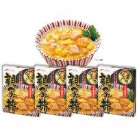 【金のどんぶり・お手軽満足】 親子丼 4食入 【贈答 ギフト 九州 全国 特産品】