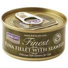 猫缶 ツナ&海藻 TUNA FILLET WITH SEAWEED 70g