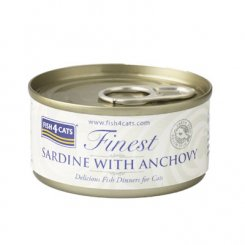 <font color=#ff0000>NEW</font> 猫缶 イワシ&アンチョビ SARDINE WITH ANCHOVY 70g