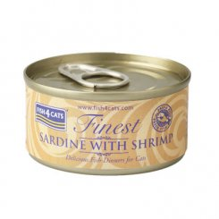 <font color=#ff0000>NEW</font> 猫缶 イワシ&小エビ SARDINE WITH SHRIMP 70g