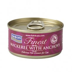 <font color=#ff0000>NEW</font> 猫缶 サバ&アンチョビ MACKEREL WITH ANCHOVY 70g