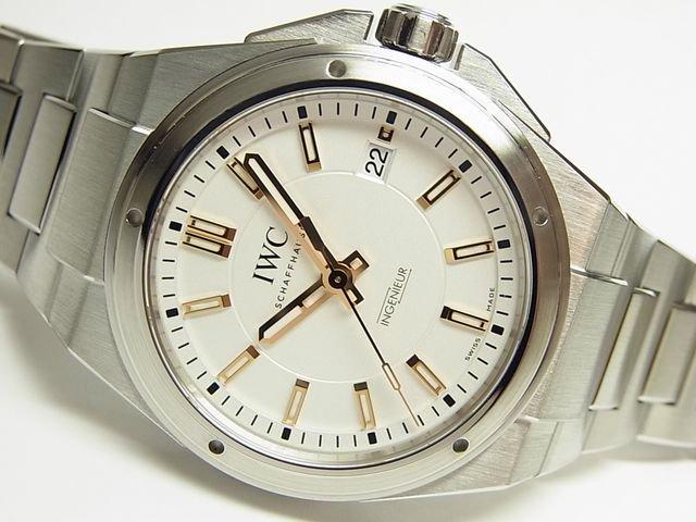 innovative design c2d45 4e9cd IWC インヂュニア シルバー×ゴールド IW323906 正規 - 腕時計専門店THE-TICKEN(ティッケン) オンラインショップ