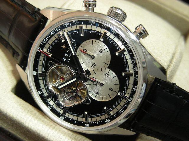 8bd26c9275 ゼニス エル・プリメロ クロノマスター・1969 ブラック ブティック限定 - 腕時計専門店THE-TICKEN(ティッケン) オンラインショップ