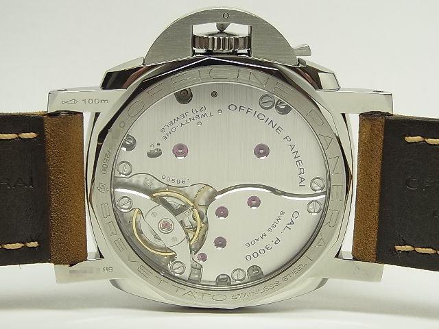 hot sale online 14377 0b5ee パネライ ルミノール1950 3デイズ 47MM PAM00372 O番 - 腕時計 ...