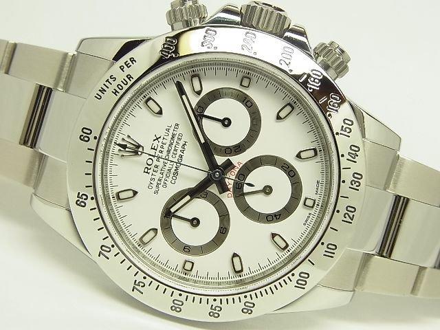 timeless design 832b3 95247 ロレックス デイトナ ステンレス ホワイト ランダム - 腕時計 ...