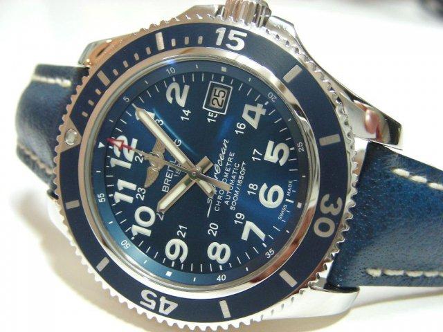 ブライトリング スーパーオーシャンII 42 ブルー