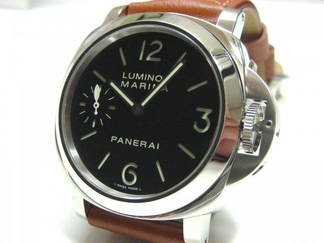 info for 36f8a 9270e パネライ ルミノール・マリーナ 44MM 手巻 PAM00111 - 腕時計 ...