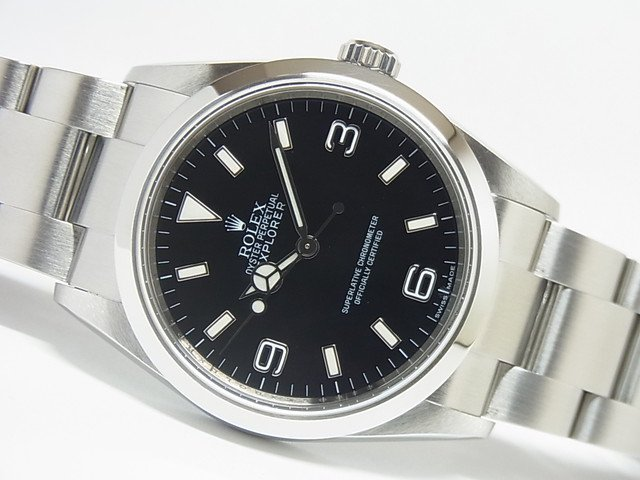 sale retailer 4baa9 98255 ロレックス エクスプローラーI 114270 最終ランダム番 - 腕時計 ...