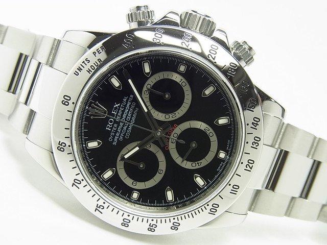 wholesale dealer 65d54 c8049 ロレックス デイトナ SS ブラック Ref.116520 V番 - 腕時計専門店THE-TICKEN(ティッケン) オンラインショップ