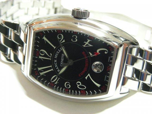 フランクミュラー コンキスタドール ブラック 8005SC 正規品