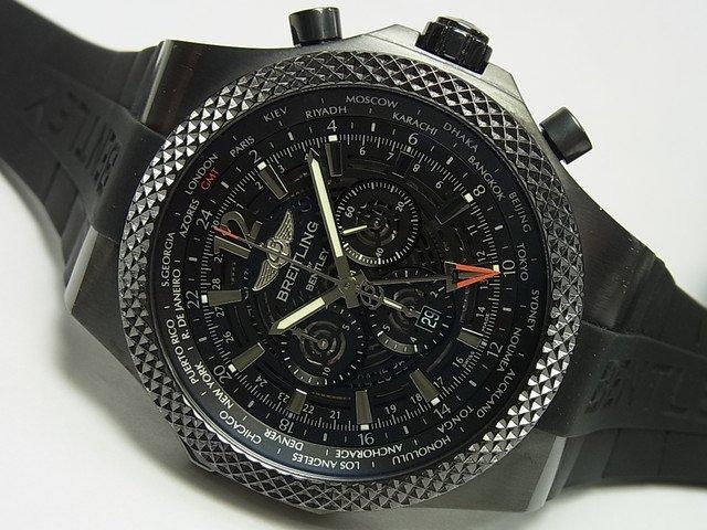ブライトリング ベントレー・GMT ミッドナイトカーボン 世界1000本限定 正規品