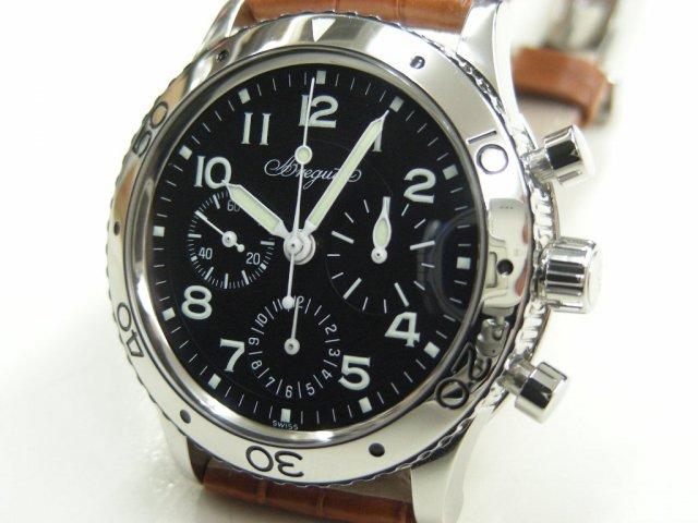 online store 26e6d 54c0b ブレゲ アエロナバル 革ベルト 3800ST - 腕時計専門店THE-TICKEN(ティッケン) オンラインショップ
