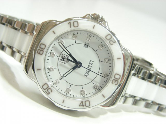 タグ・ホイヤー レディース フォーミュラ1 セラミック&ダイヤモンド