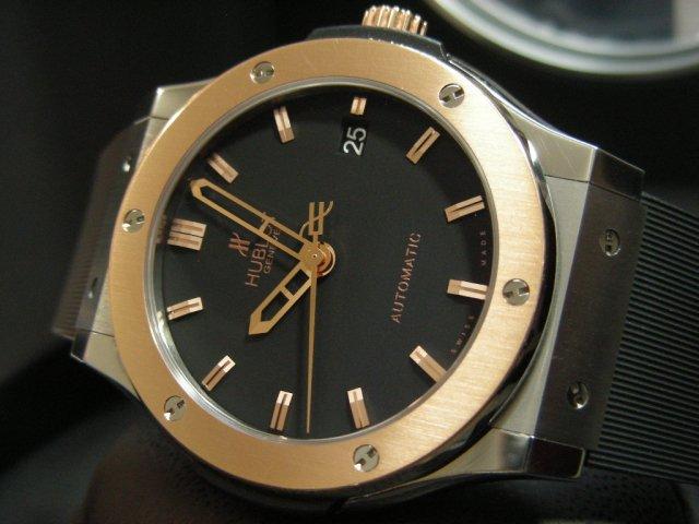 new product 71df4 03e0e ウブロ クラシック フュージョン チタニウム キングゴールド 45MM - 腕時計専門店THE-TICKEN(ティッケン) オンラインショップ