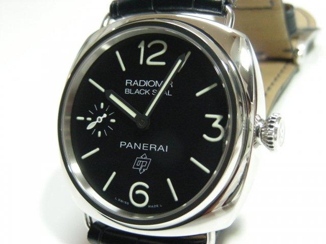 パネライ ラジオミール・ブラックシール ロゴ PAM380 Q番 クロコ革