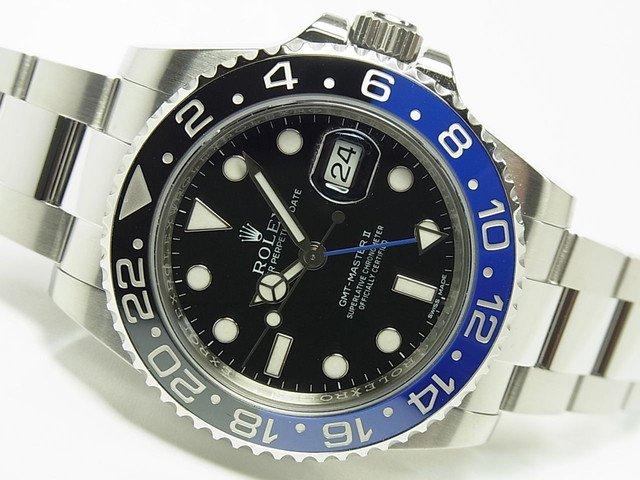 ロレックス GMTマスターII・青黒ベゼル 116710BLNR 国内正規品