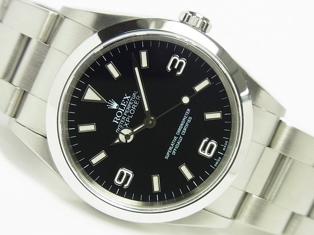 best website 567a7 d50fc ロレックス エクスプローラーI Ref.14270 最終P番 - 腕時計専門店THE-TICKEN(ティッケン) オンラインショップ